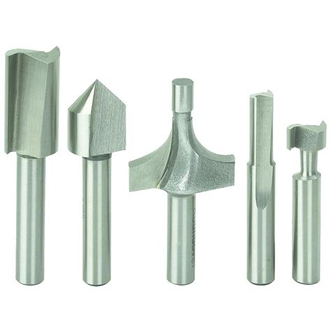 Router Bits high speed steel router bit set 5 pc