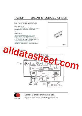 Kec Kia324p ta7342p データシート pdf list of unclassifed manufacturers