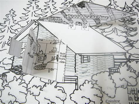 coloring pages little house on the prairie our 3 dimensional model of little house in the big woods