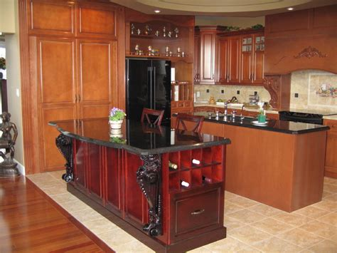 high end residential traditional kitchen