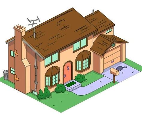 3d Print Your Own Replica Of The Simpsons House Thanks To Blueprint Of Simpsons House