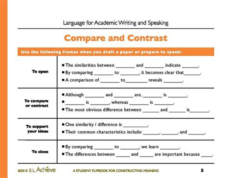 Compare And Contrast Essay Exle For Middle School by 17 Best Images About Compare And Contrast On Patriots Civil Wars And Student