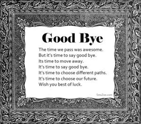 Goodbye Poems For Friends Farewell Poems In Friendship
