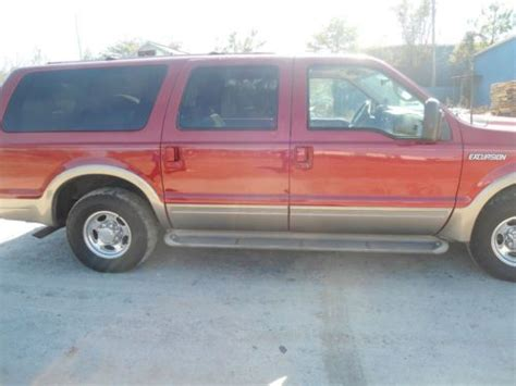 how to fix cars 2001 ford excursion seat position control find used 2001 ford excursion limited third row seat leather no rust very nice in