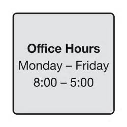 Office Hours Sign Office Hours Quotes Like Success