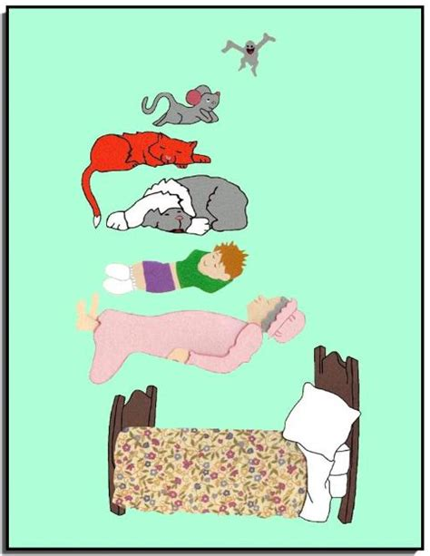 printable napping house free napping house coloring pages
