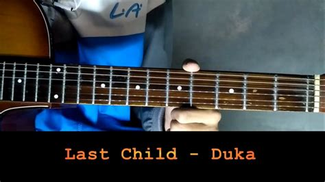 tutorial last child bernafas tanpa mu tutorial gitar last child duka chord dan strum youtube