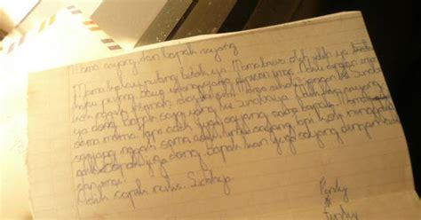 sepucuk surat untuk ayah cerpen perjuangan kumpulan