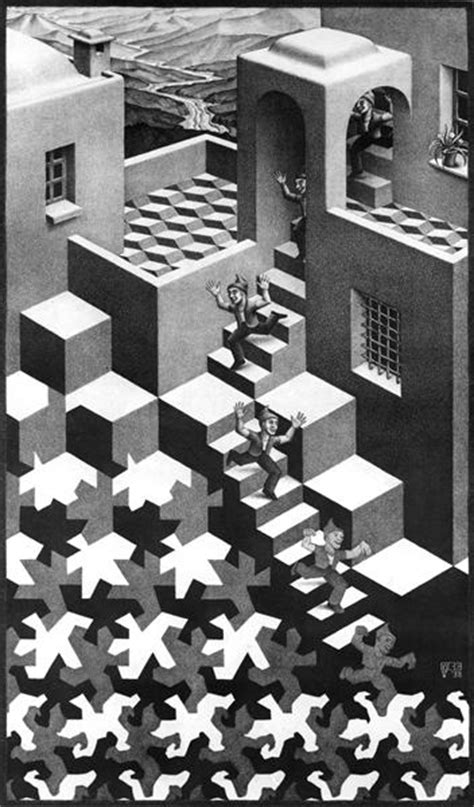 cycle 1938 m c escher wikiart org