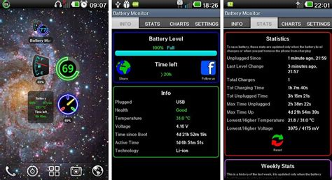 top android widgets best battery widgets for android phones and tablets android authority
