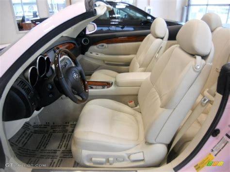 ecru interior 2006 lexus sc 430 photo 47661010 gtcarlot