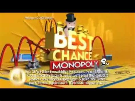 mcdonalds uk monopoly commercial actress mcdonalds monopoly 6 team s idea
