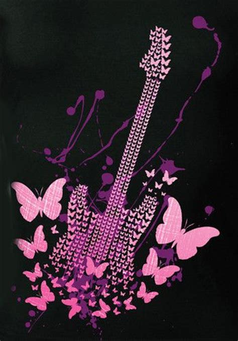 girly guitar wallpaper metals heavy metal and ps on pinterest