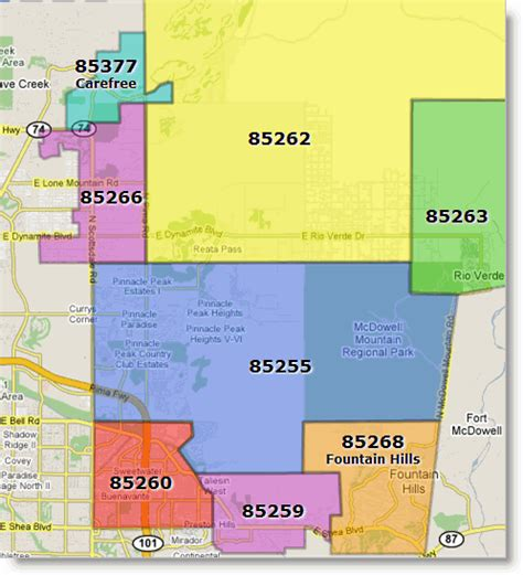 arizona zip code map step by step pictures of landscaping 85086 zip code