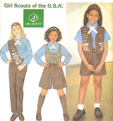 girls scouts of the usa girls scouts of northeast texas world girl scout uniform sewing pattern girl scouts of the usa