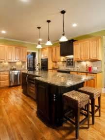 black island kitchen light cabinets with dark island cabinet combo black and light island shape black hood