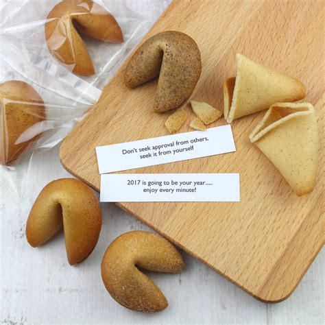 new year fortune happy new year gift box of fortune cookies by cracking
