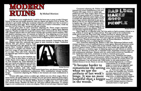 bad layout exles exles of bad magazine layout