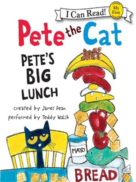 a really big lunch books the indianapolis library pete s big lunch