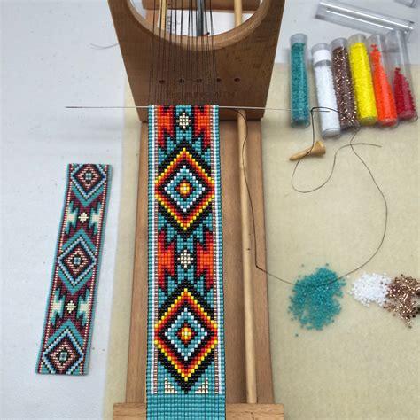 loom beading jemez bead loom bracelet bohemian boho artisanal jewelry