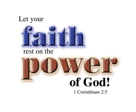 Faith Is Powerful power of god daily scriptures and thoughts
