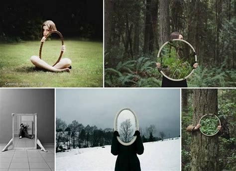 photography ideas cool images taken with a mirror photography tips
