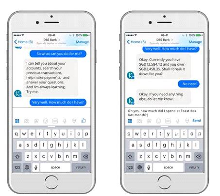 mobile messaging apps dbs to roll out conversational banking in mobile messaging