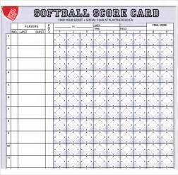 softball scorecard template sle softball score sheet 10 documents in pdf word