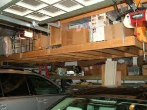 cargo shelving systems overhead garage storage ask the builderask the builder