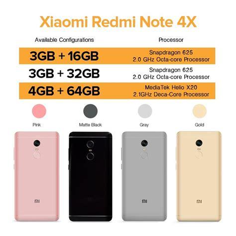 Xiaomi Note 4x Ram 3 Gb Rom 16 Gb Gold Berkualitas xiaomi redmi note 4x 3gb ram 16gb rom gold philippines
