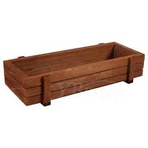 indoor wood planter wooden herb flower succulent planter box home fruits storage case indoor outdoor ebay
