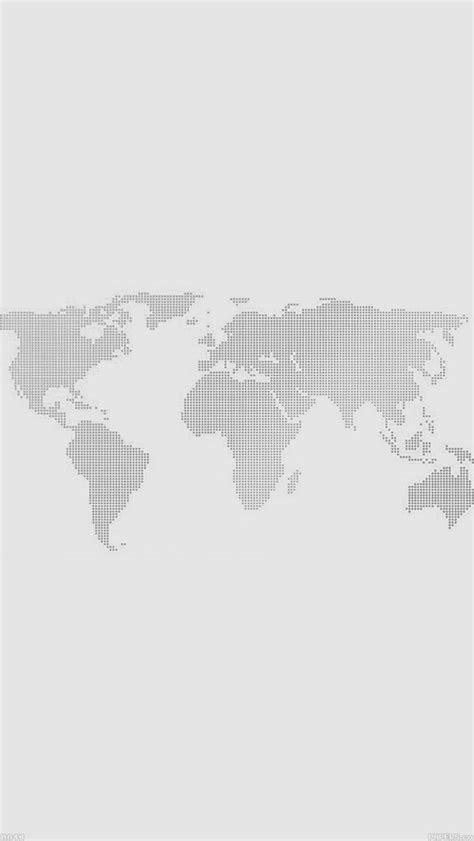 world map light gray simple flat illustration iphone  wallpaper hd   iphonewalls