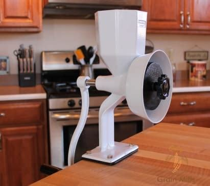 getting started with a home grain mill