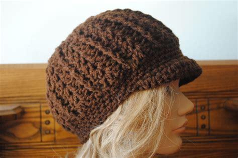 free pattern newsboy hat free crochet newsboy hat pattern note to self made it