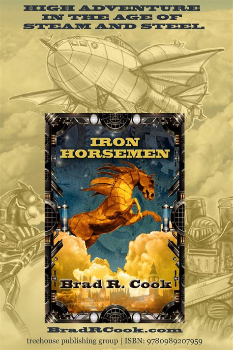 Iron Horsemen The Iron Chronicles jen s corner bradrcook new steunk trilogy iron