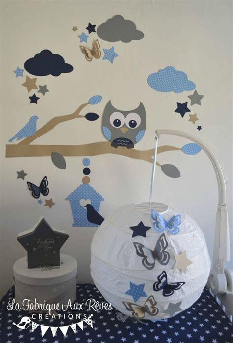 décoration chambre bébé garçon bleu chambre garcon