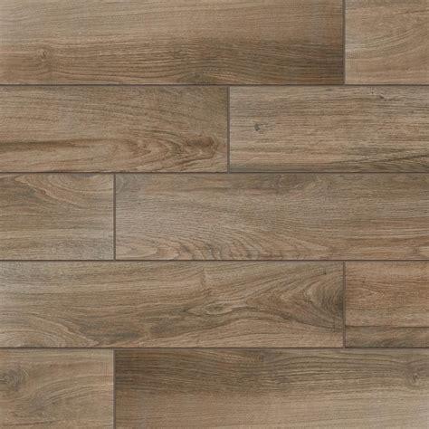 ceramic tile wood floor daltile evermore wood 6 in x 24 in porcelain