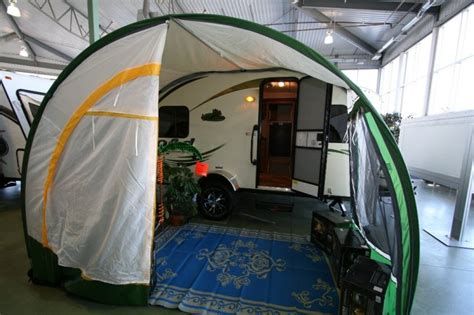 R Dome Awning With Screen Room by R Dome Awning