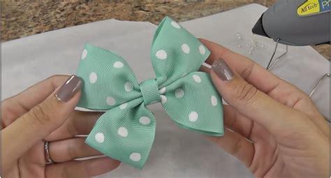 charming diy hair bows   cherish