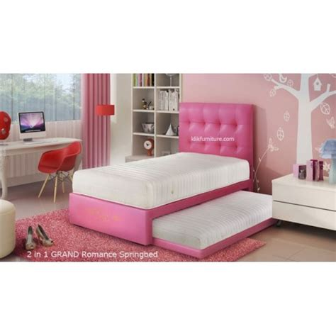 Grand 2in1 140x200 Springbed Set harga grand 2 in 1 springbed diskon promosi termurah