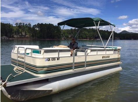 20 ft pontoon boat sylvan pontoon 20ft boats for sale