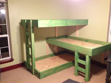 Bunk Bed With 3 Beds The Purchase Of The 3 Bunk Bed Jitco Furniture