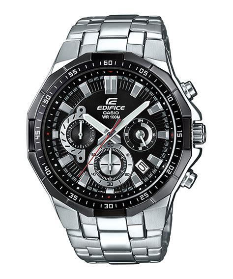 Harga Jam Tangan Wr100m efr 554d 1av standard chronograph edifice timepieces