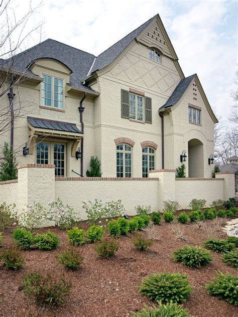 painted brick houses painted brick home for me pinterest