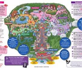 magic kingdom map florida walt disney world family vacation magic kingdom