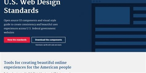 design guidelines for websites the usds publishes an official style guide for us