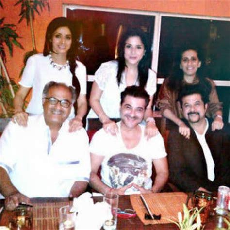 sridevi family sridevi with family and friends 25 rare sridevi photos