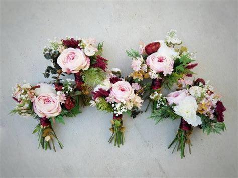 Silk Wedding Bouquets by Bridesmaid Bouquet Wedding Bouquet Bouquet Set Silk