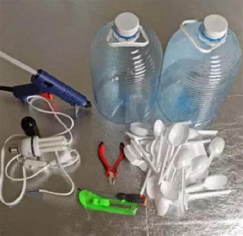 cara membuat lu hias menggunakan botol bekas cara membuat kerajinan tangan dari botol bekas bunga