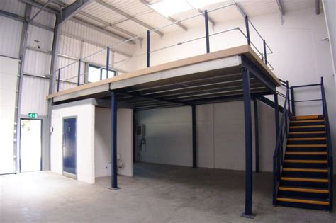 mezzanine design how building a mezzanine can increase storage and office space
